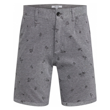 Only & Sons Chinosy 'onsCUTON KNITTED PIQUE AOP SHORTS' szary