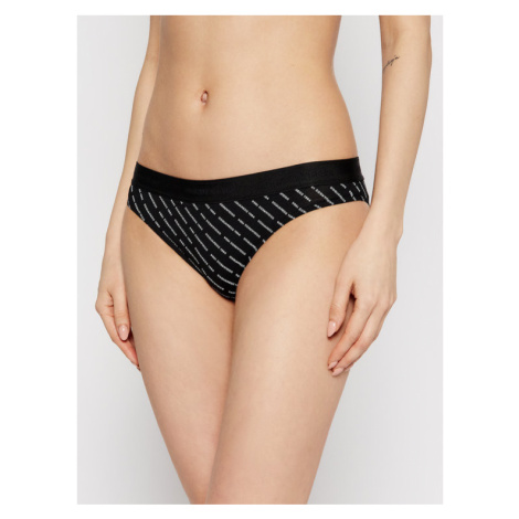 Dsquared2 Underwear Figi klasyczne D8L612990 Czarny