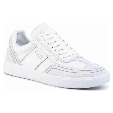 Sneakersy GUESS - Mercurio FM6NET LEA12 WHITE