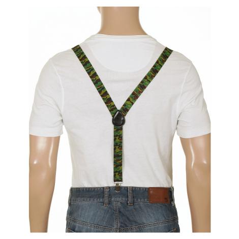szelki Mohity Army - Black/Brown/Green