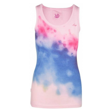 Loap BENATE różowy XL - Koszulka damska