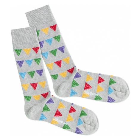 DillySocks Skarpety 'Party Flags' mieszane kolory