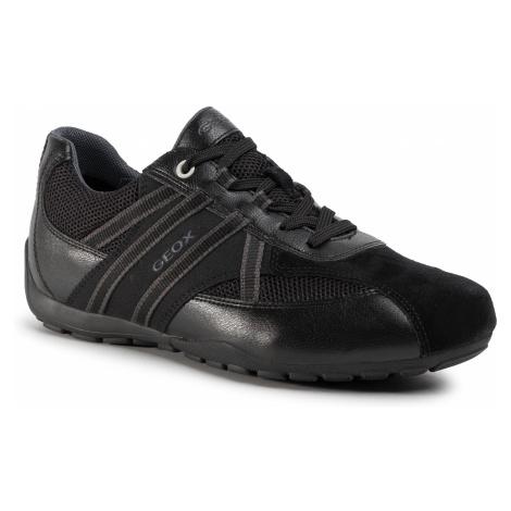Sneakersy GEOX - U Ravex C U023FC 0BC14 C9999 Black