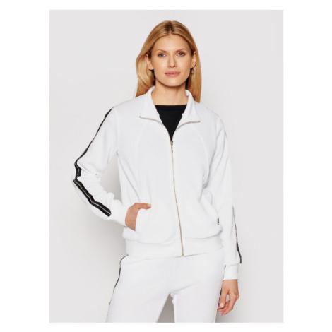 Liu Jo Sport Sweter TA1088 J6178 Biały Regular Fit