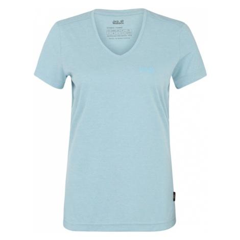 JACK WOLFSKIN Koszulka funkcyjna 'Crosstrail' jasnoniebieski