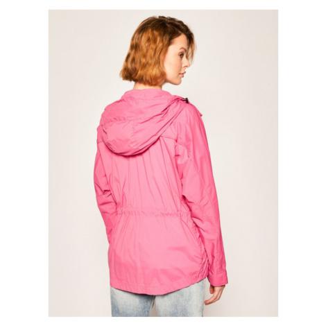 Blauer Parka Cameron Large Sleeve Unlied 20SBLDC04090 005250 Różowy Slim Fit