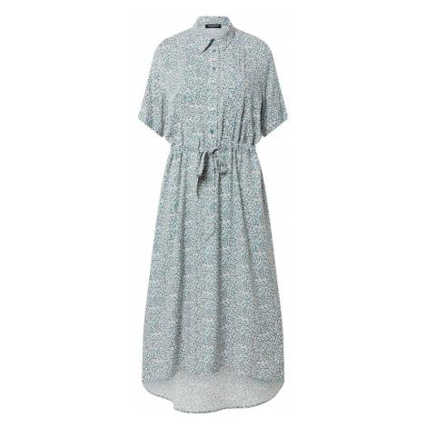 SELECTED FEMME Sukienka 'Bella' biały / pastelowy niebieski / żółty