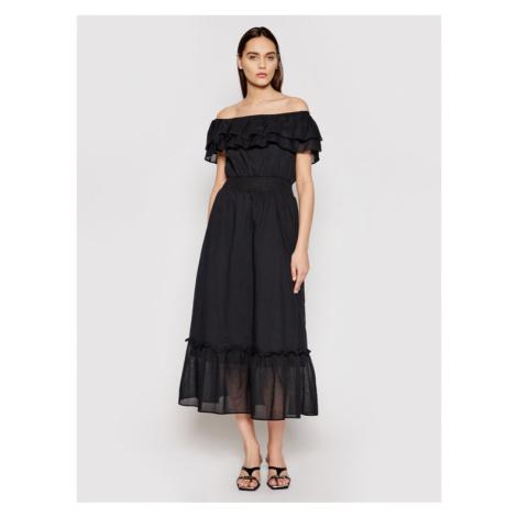 Liu Jo Sukienka koktajlowa WA1496 T5976 Czarny Regular Fit