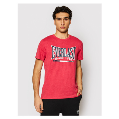 EVERLAST T-Shirt 20127104-87 Czerwony Regular Fit