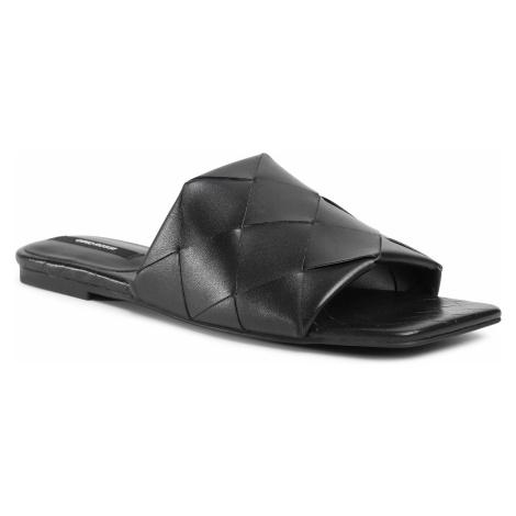 Klapki GINO ROSSI - 120AL0642 Black