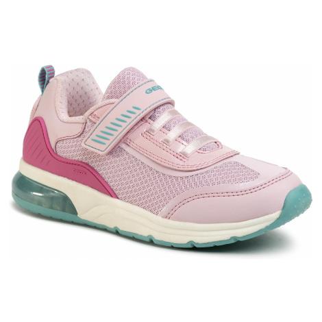 Sneakersy GEOX - J Spaceclub G. C J028VC 01454 C8005 D Pink