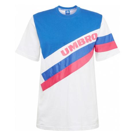 UMBRO Koszulka 'UMBRO SECTOR CREW TEE' niebieski / czerwony / biały
