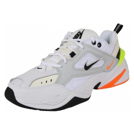 Nike Sportswear Trampki niskie 'M2K Tekno' neonowo-żółty / neonowa pomarańcza / biały