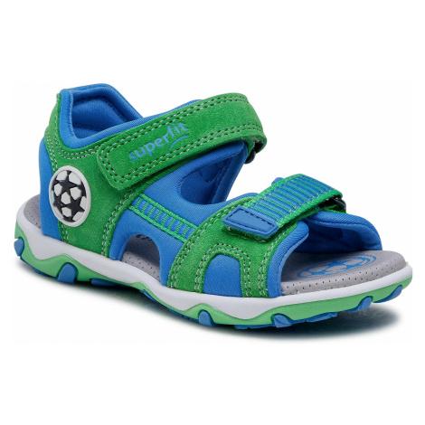 Sandały SUPERFIT - 1-609465-7000 S Grun/Blau