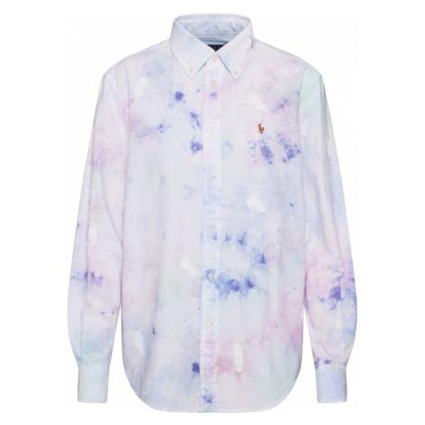 POLO RALPH LAUREN Bluzka biały / fioletowy / różowy