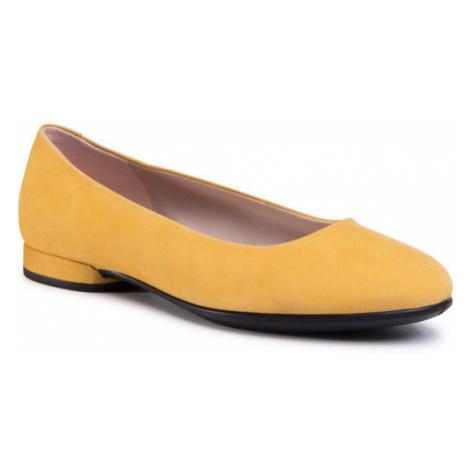 ECCO Baleriny Annie 20800302366 Żółty
