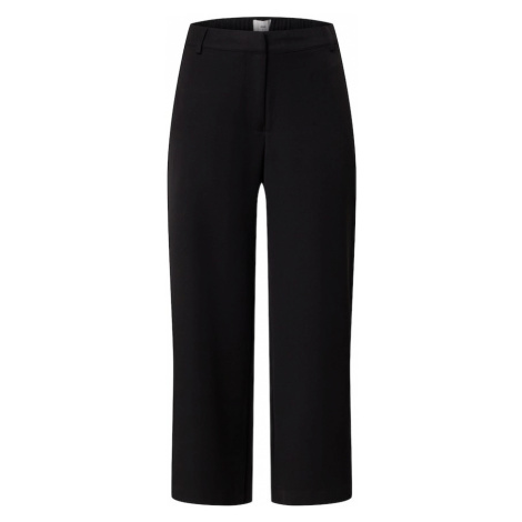 Minimum Spodnie 'Culotta' czarny