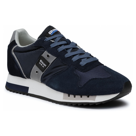 Sneakersy BLAUER - F0QUEENS01/MES Navy