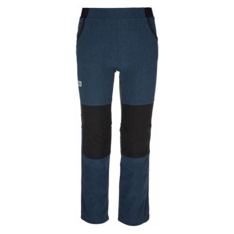 Dziecięce spodnie sportowe Karido-jb dark blue - Kilpi