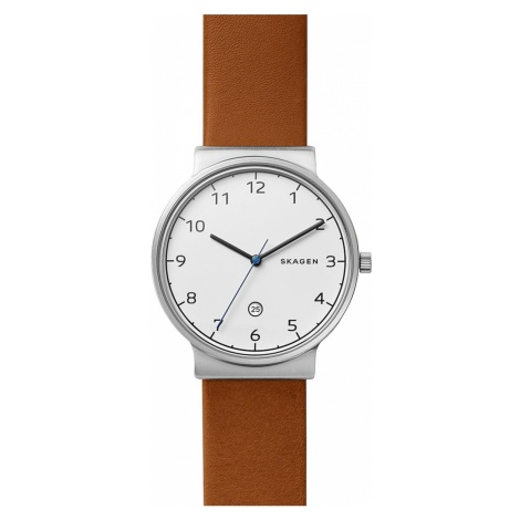 Zegarek SKAGEN - Ancher SKW6433 Brown/Silver