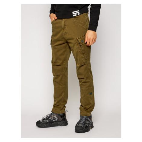 G-Star RAW Spodnie materiałowe Roxic Straight Tapered Cargo D14515-C096-C028 Zielony Tapered Fit