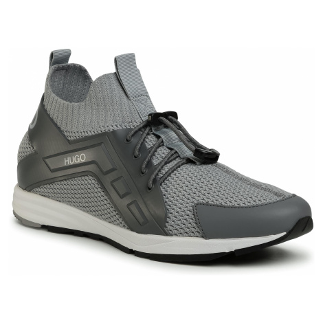 Sneakersy HUGO - Hybrid 50433050 10227421 01 Medium Grey 030 Hugo Boss