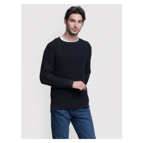 Vistula Sweter Mason Duo XA0784 Czarny Regular Fit