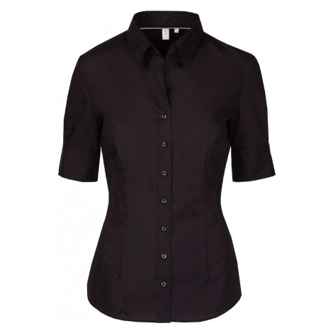 SEIDENSTICKER Bluzka 'Schwarze Rose' czarny