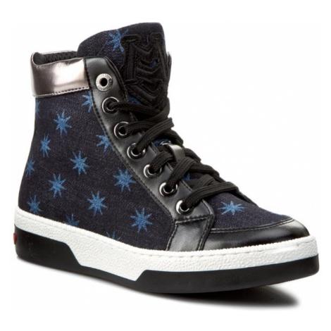 Sneakersy LOVE MOSCHINO - JA15113G00JA0750 Stelle Blu