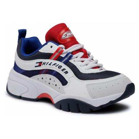 Sneakersy TOMMY JEANS - Heritage Tommy Jeans Runner EM0EM00482 Rwb 0K9 Tommy Hilfiger