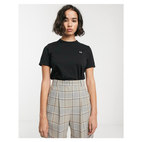 Fred Perry logo ringer tee