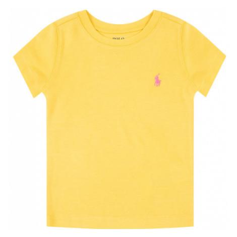 Polo Ralph Lauren T-Shirt 311698703 Żółty Regular Fit