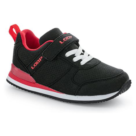 ACTEON dziecięce's buty rekreacyjne czarne LOAP