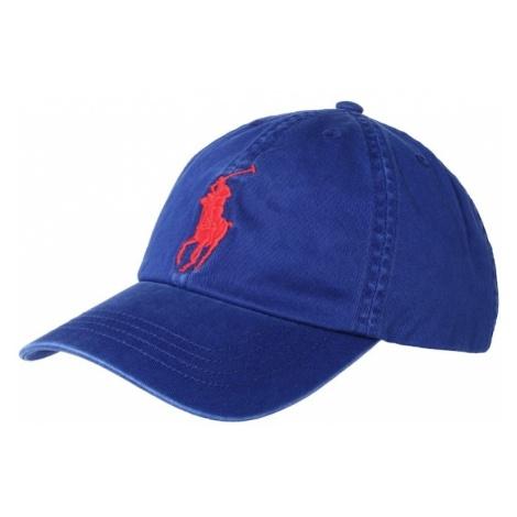 POLO RALPH LAUREN Kapelusz 'CHINO TWILL-BIG PP CAP-AC-HAT' niebieski