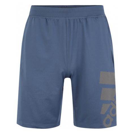 ADIDAS PERFORMANCE Spodnie sportowe podpalany niebieski