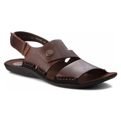 Sandały NIK - 06-0227-01-7-02-02 Brązowy