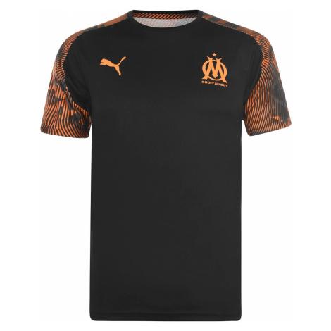 Puma Olympique De Marrseile Short Sleeved T Shirt Mens