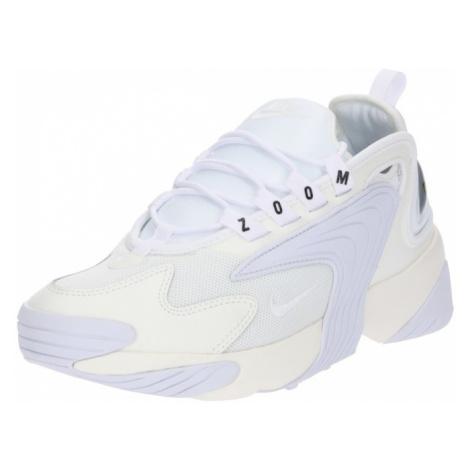 Nike Sportswear Trampki niskie 'Zoom 2K' offwhite / biały
