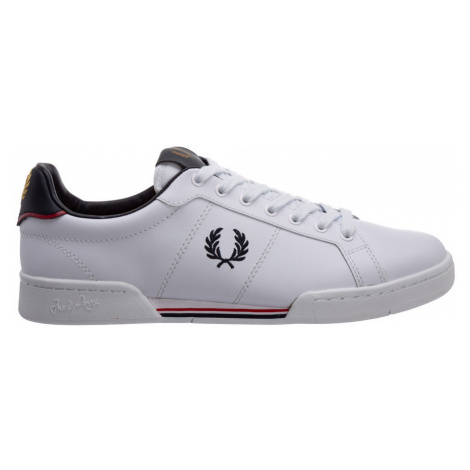 Shoes leather trainers sneakers Fred Perry