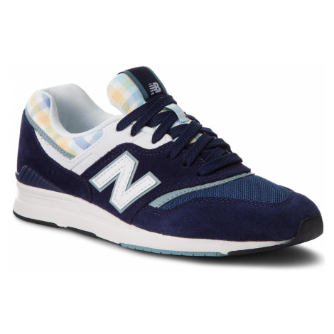 Sneakersy NEW BALANCE - WL697TRB Granatowy