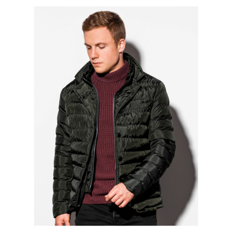 Ombre Clothing Men's mid-season quilted jacket C445