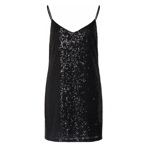Banana Republic Sukienka 'SL STRAPPY CAMI SEQUIN SHIFT' czarny