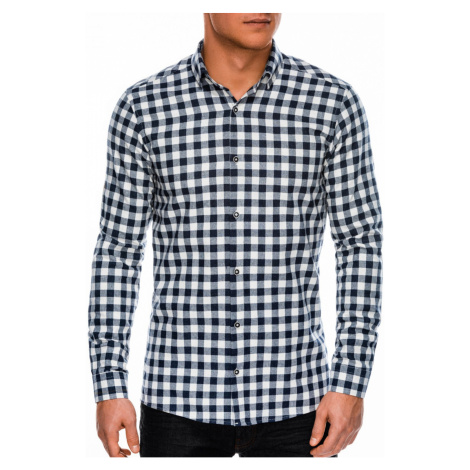 Ombre Clothing Men's shirt with long sleeves K509