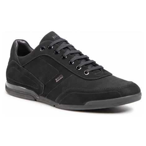 Sneakersy BOSS - Saturn 50445685 10214613 01 Black 001 Hugo Boss