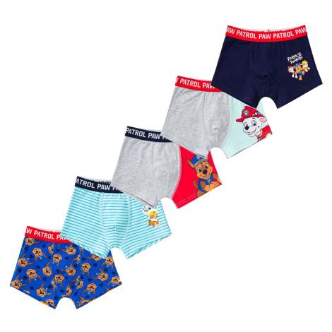 Boys boxer shorts Paw Patrol 5 Pack Character