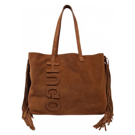 HUGO Torba shopper 'Chelsea Shopper' brązowy Hugo Boss