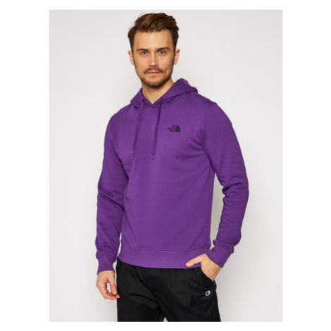 The North Face Bluza Seas Drew Peak NF0A2TUVNL41 Fioletowy Regular Fit