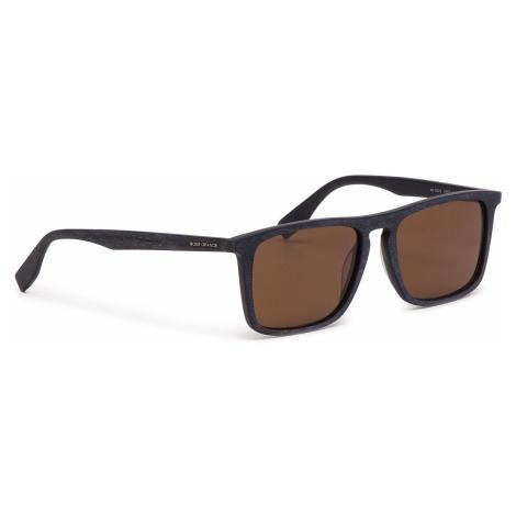 Okulary przeciwsłoneczne BOSS - 0320/S Mtblue Wood 2FW Hugo Boss