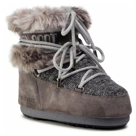 Śniegowce MOON BOOT - Mars Wool Fur 14401100002 Grey