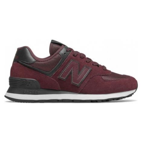 New Balance WL574WNR czerwony 5.5 - Obuwie miejskie damskie